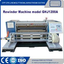 Plastic Film Rewinding Machine