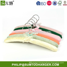 satin padded wedding dress clothes hangers