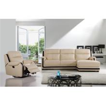 Canapé de salon avec un ensemble de canapé moderne en cuir véritable (751)