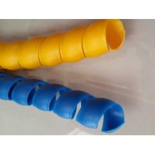 Proteção de mangueira de material PP flexível para mangueira de borracha hidráulica