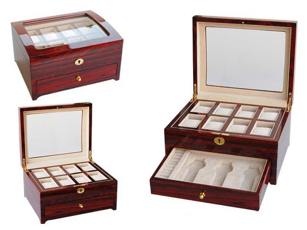 Wb 3034 Rosewood Handmade Watch Box