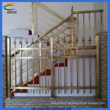 Indoor Gold Farbtreppenzaun (CT-3)