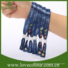 La venta directa de la fábrica embroma los wristbands plásticos