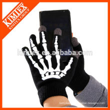 Wholesale knit custom acrylic texting gloves