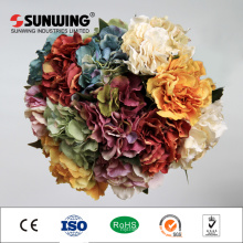 china factory plastic wedding orchid artificial flowers hydrangeas