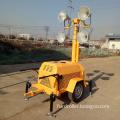 Outdoor mobile trailer light tower solar light tower Emergency equipment  FZMT-400B
