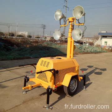 Portable telescopic mobile diesel light tower FZMTC-1000B