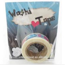 Fabricación personalizada de cinta Washi, cinta washi impresa personalizada, cinta washi impermeable