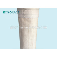 Sac de filtre à poussière de l'usine de ciment en fibre de verre