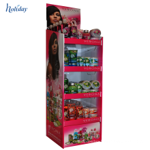 Paper Material Shopping Mall Kiosk Sale Design For Women's Products