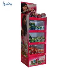 Projeto material da venda do quiosque do centro comercial do papel para produtos das mulheres