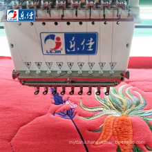 brother 24 head good quality computerized cheap price flat embroidery sewing machines