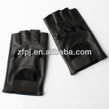 Guantes profesionales sin dedos de cuero Fabricante