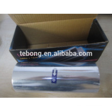 Aluminum Foil roll paper for hairdressing with dispenser embossed and printing