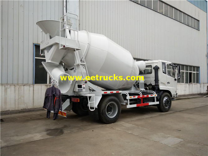 Used Concrete Transport Truck