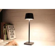 Lámpara de lectura de mesa de escritorio LED recargable de aleación de aluminio