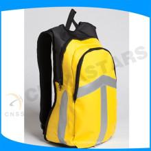 Naranja alta visibilidad paquete de bolsa reflectante con cinta reflectante