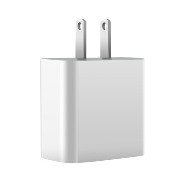 Adaptador AC / DC USB-C PD Carregador 18W Para Apple