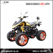 Road Legal Quad Bikes para la venta 200cc ATV CEE aprobado 250cc Quad