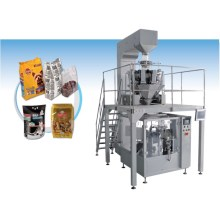 High Precision Full Automatic Vertical Rotary Packaging Line
