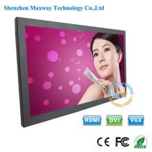High brightness 600 cd/m2 widescreen 15.6 monitor with HDMI DVI VGA port