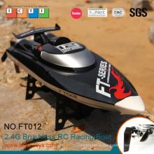 Горячие новые продукты для 2015 2.4 G 48 км/ч высокоскоростной безщеточный rc лодки