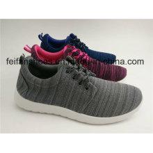 Unisex-Leinwand-Einspritzungs-Sport-Schuhe, zufälliger Schnürschuh mit besonders angefertigt