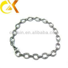 Pulsera de acero inoxidable joyas anillo de diseño