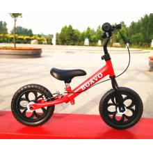 Cadre en acier de vélo d'équilibre de bébé, plus nouveau vélo d'équilibre d'enfants