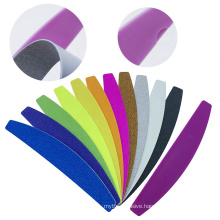 High Quality Private Label Custom Color Nail File Plastic Core For Refillable Sandpaper