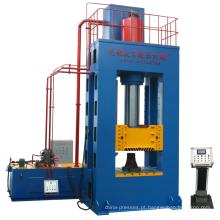 Prensa hidráulica multifuncional com estrutura 100T H