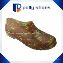 Dernières chaussures de pluie de femmes Chaussures de pluie de conception nouvelle