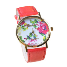 Ladies leather belt fashion quartz watch