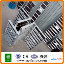 Coffrage en alliage d'aluminium de construction