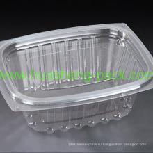Пищевой ПЭТ одноразовый прозрачный пластиковый салатник