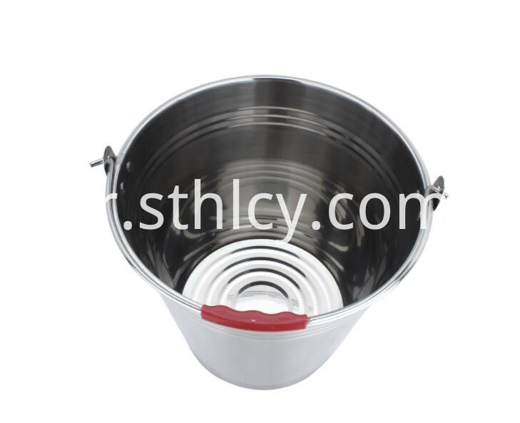 Large Stainless Steel Pail