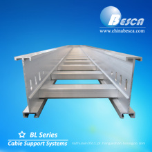 Bandeja da escada do cabo da liga de alumínio (UL, cUL, NEMA, GV, CE, CE, ISO testado)