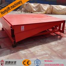 maquinaria máquina carga hidráulica contenedor estacionario muelle nivelador muelle rampa