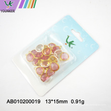 Wholesale Glass Single Hole Jewelry Pendant For DIY