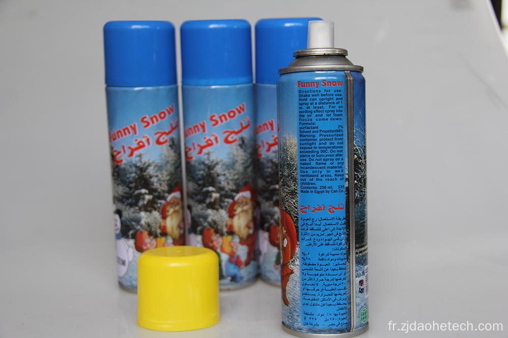 300 ml Arabe Père Noël Snow Spray