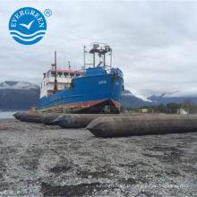 récupération et récupération des airbags de levage pour la réparation navale