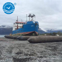lançamento e salvamento de airbag de elevação marítima para reparação de navios