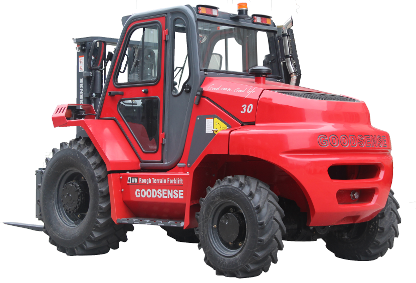 3.0 Ton 4-Wheel Drive Rough Terrain Forklift