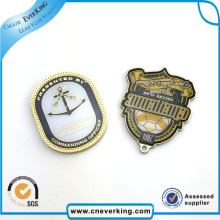 China atacado logotipo impressão Hard Esmalte Pin