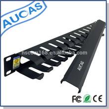 Aucas Marke 1U Kabel-Management-System für 19-Zoll-Server-Schrank