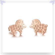 Accesorios de moda Pendiente de joyería de acero inoxidable (EE0069)