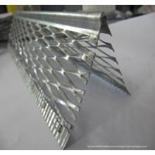 Grano de plástico del PVC de la esquina del panel de yeso / de la esquina / ángulo de esquina