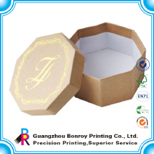 Logotipo personalizado logotipo de papel de cartón hecho a mano de lujo joyería personalizada embalaje