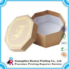 Изготовленный на заказ Логос напечатанный картон бумаги ручной работы класса люкс на заказ ювелирных изделий упаковывая