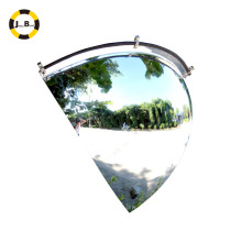 90 Degree Spherical Convex Mirror With Actual Viewing